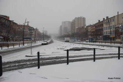 Toulouse-snow fall (4)