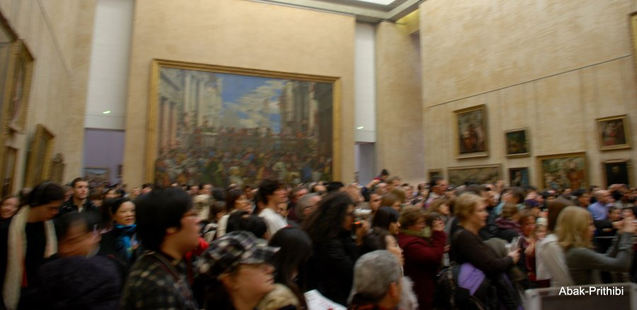 Mona Lisa- Louvre, France  (1)