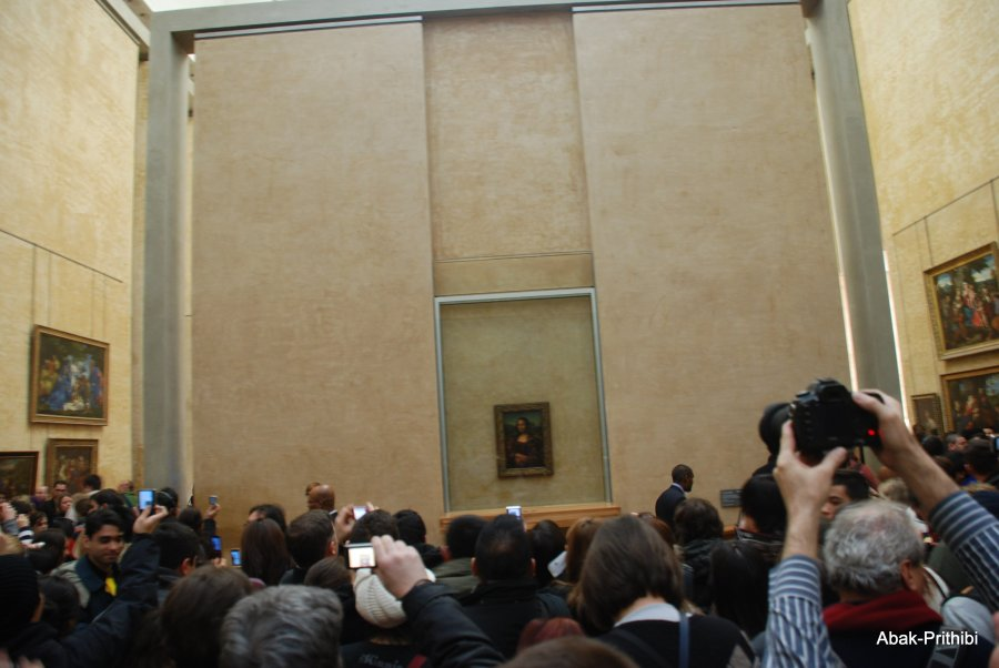 Mona Lisa- Louvre, France  (5)
