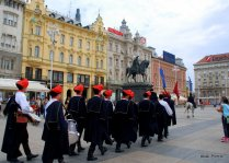 The Changing of the guards, Zagreb, Croatia (4)