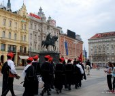 The Changing of the guards, Zagreb, Croatia (5)