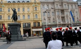 The Changing of the guards, Zagreb, Croatia (6)