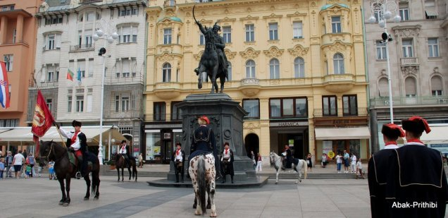 The Changing of the guards, Zagreb, Croatia (7)