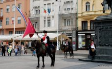 The Changing of the guards, Zagreb, Croatia (8)