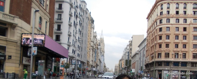 Gran Vía, Madrid, Spain (1)