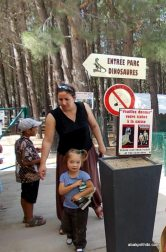 Meze dinosaur park, South France (2)