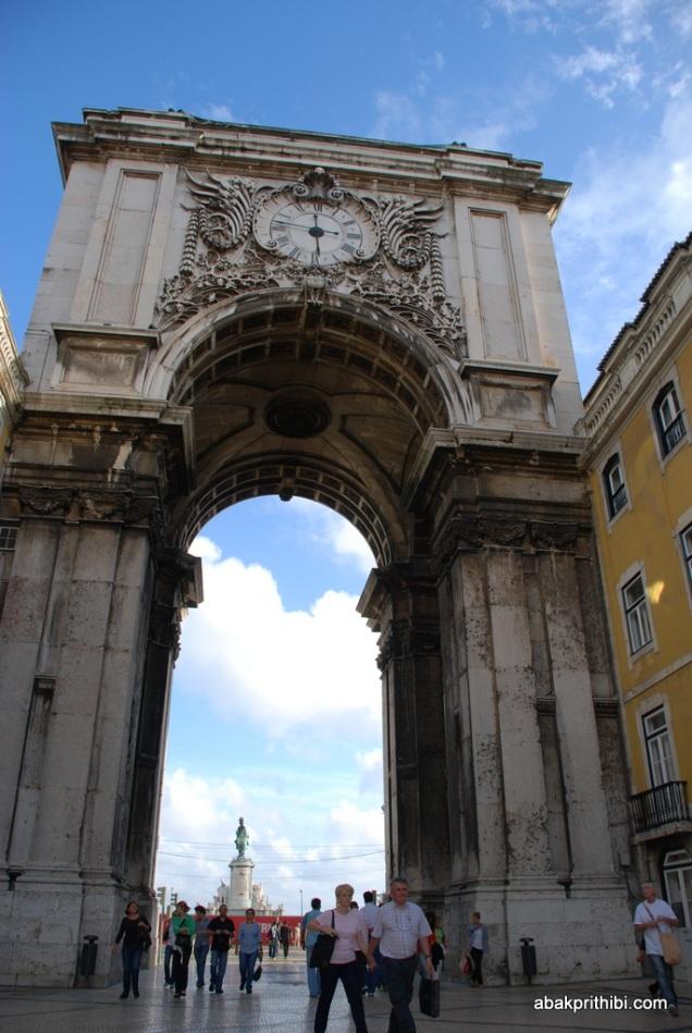 Rua Augusta Arch, Lisbon, Portugal (1)