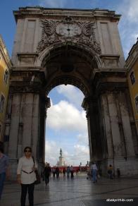 Rua Augusta Arch, Lisbon, Portugal (2)