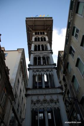 Santa Justa Lift, Lisbon, Portugal (1)