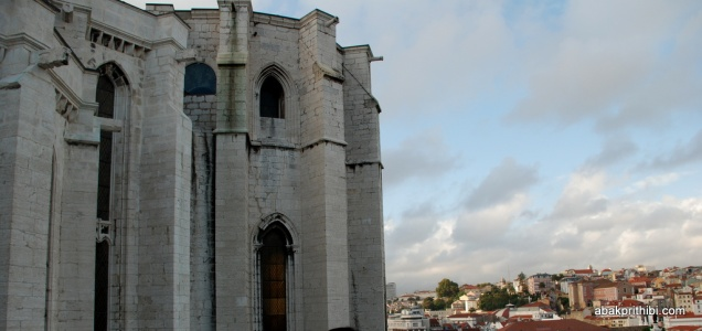 View from Carmo church, Lisbon, Portugal (3)