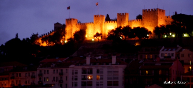 View from Carmo Square, Lisbon, Portugal (1)
