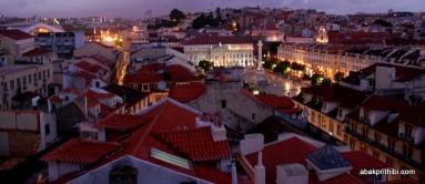 View from Santa Justa Lift, Lisbon, Portugal (1)