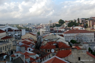 View from Santa Justa Lift, Lisbon, Portugal (2)
