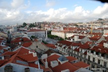View from Santa Justa Lift, Lisbon, Portugal (3)