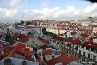 View from Santa Justa Lift, Lisbon, Portugal (3)
