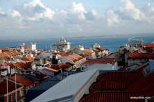 View from Santa Justa Lift, Lisbon, Portugal (4)
