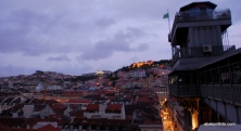 View from Santa Justa Lift, Lisbon, Portugal (7)