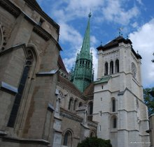 Saint Pierre Cathedral, Geneva, Switzerland (2)