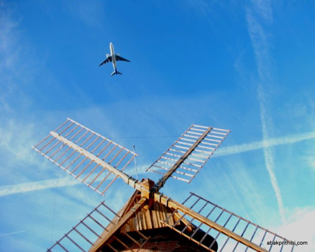 St Martin du Touch Wind mill, Toulouse, France (2)