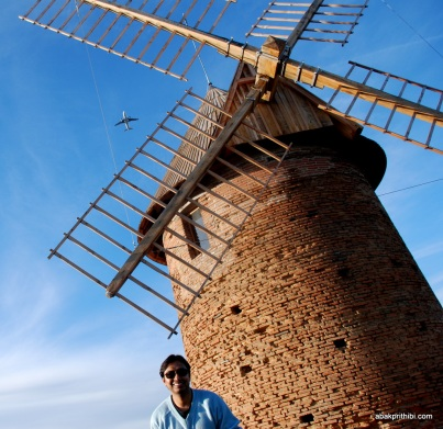 St Martin du Touch Wind mill, Toulouse, France (4)
