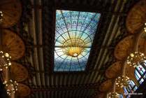 Stained-glass skylight, Palau de la Música Catalana, Barcelona, Spain (12)