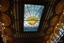 Stained-glass skylight, Palau de la Música Catalana, Barcelona, Spain (12)