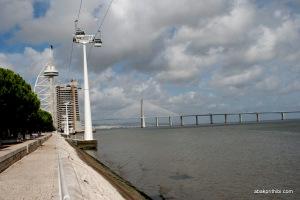 Vasco da Gama Tower, Lisbon, Portugal