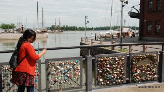 Bridge of Love, Helsinki, Finland (5)