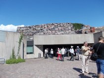 Temppeliaukio Church, Entrance to the church, Helsinki, Finland (1)