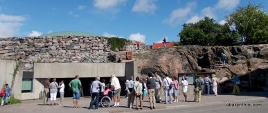 Temppeliaukio Church, Entrance to the church, Helsinki, Finland (8)