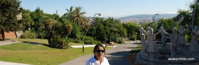 Way to Montjuïc Castle, Barcelona, Spain (17)