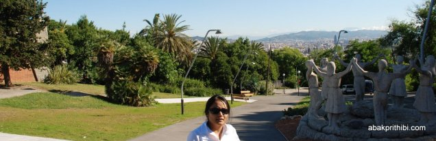 Way to Montjuïc Castle, Barcelona, Spain (17)