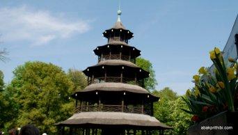 Chinesische Turm, English Garden, Munich (1)