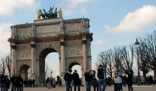 Axe historique, Arc de Triomphe du Carrousel, Paris, France (2)