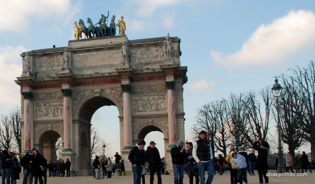 Axe historique, Arc de Triomphe du Carrousel, Paris, France (2)