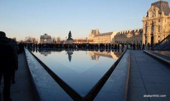 Axe historique, Louvre, Paris, France
