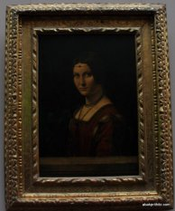 By Leonardo da Vinci, Grand Gallery Louvre