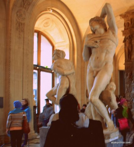 Dying and Rebellious Slave, Michelangelo gallery, Louvre Museum, Paris (5)
