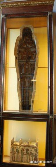 Egyptian sarcophagus, Louvre Palace, Paris