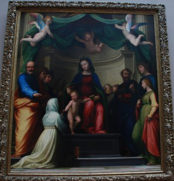 Grande Galeri, Louvre, Paris (5)