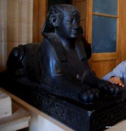 Sphinx, Louvre Palace, Paris