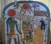 The Sun God of Ancient Egypt, Louvre Palace, Paris