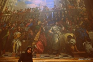 The Wedding Feast at Cana, Louvre, Paris (6)