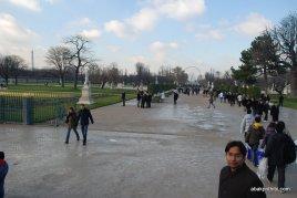 Tuileries Gardens, Axe historique, Paris, France (2)