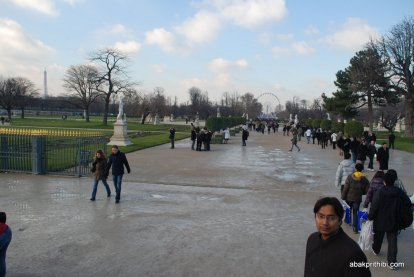 Tuileries Gardens, Axe historique, Paris, France (2)