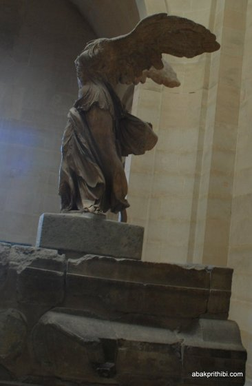 Winged Victory of Samothrace, Louvre, Paris (2)