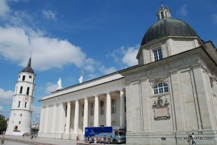 Cathedral Square, Vilnius, Lithuania (2)