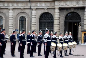 Changing of the Guard, The Royal Palace, Stockholm (1)