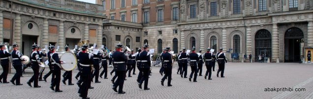Changing of the Guard, The Royal Palace, Stockholm (5)