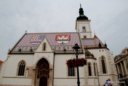 Church of St. Mark, Zagreb, Croatia (4)